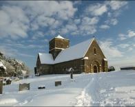 St. Martha's Church on the South Downs.