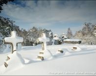 St. Martha's Church gravestones.