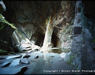 Cathedral Cavern in the Langdales