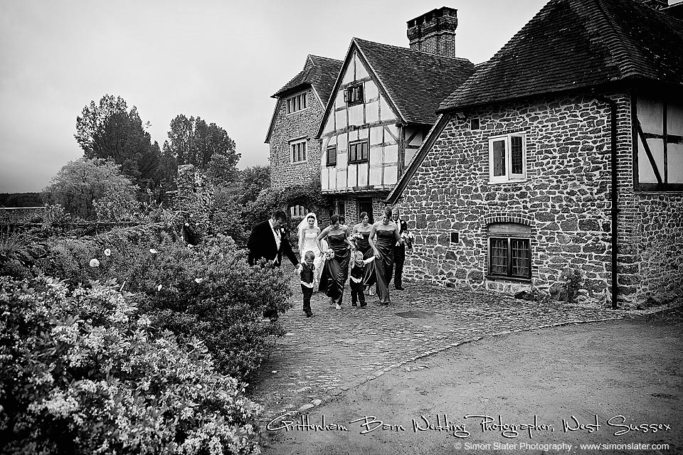 Grittenham Barn Wedding Photographer in Tillington, West Sussex - Simon Slater Photography