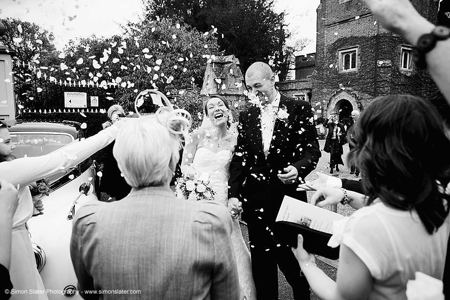 St Michael's Church, Sunninghill Wedding Photographer - Simon Slater Photography