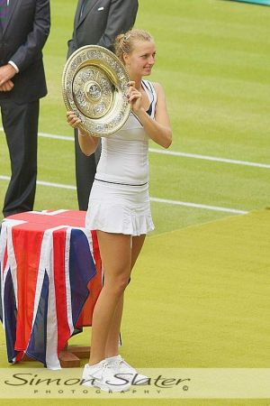 Wimbledon 2011 - Women's Final Champion (Petra Kvitova)