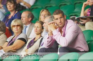 Wimbledon 2011 - Simon Shaw of England and London Wasps